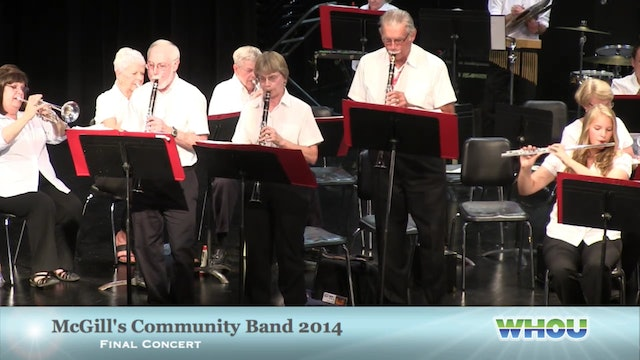 Mcgill's Commnity Band Final Concert 2014