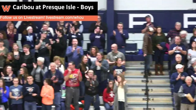 Caribou at Presque Isle - Boys 1/14/16