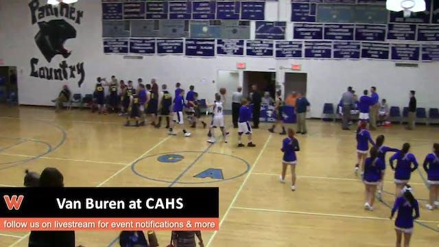 Van Buren at CAHS Boys 12-19-16