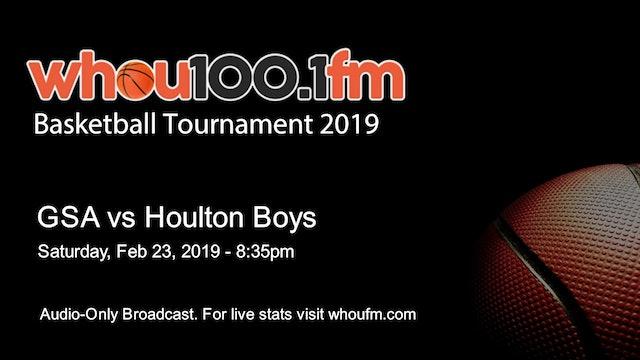 GSA vs Houlton Boys