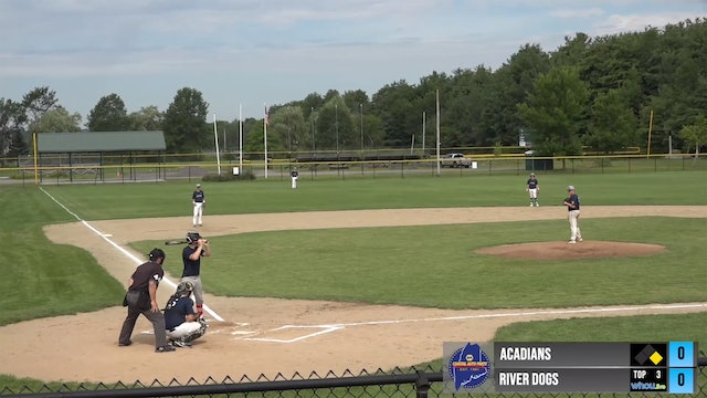 MIBL Playoffs Semi-Finals - Riverdogs vs Acadians 19U 8/8/20