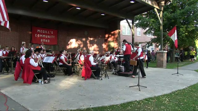 McGill's Band Concert