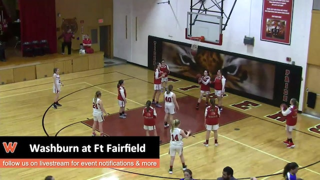 Washburn Girls at Ft Fairfield 1-16-17