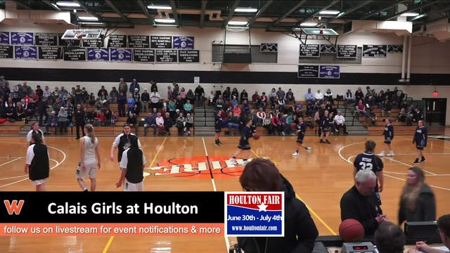 Calais Girls at Houlton 1-10-18