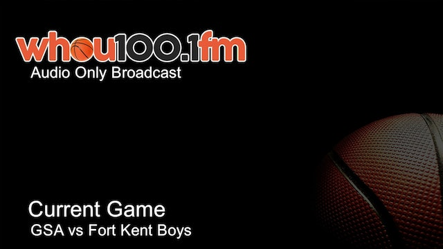 Bangor Tournament Coverage - Live Stats and Audio GSA vs Fort Kent Boys
