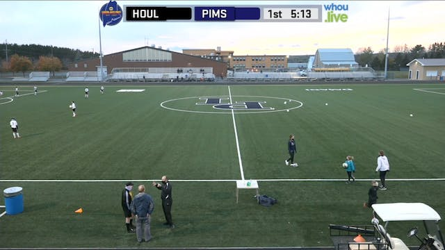 Houlton at PIMS White Boys Soccer MS ...