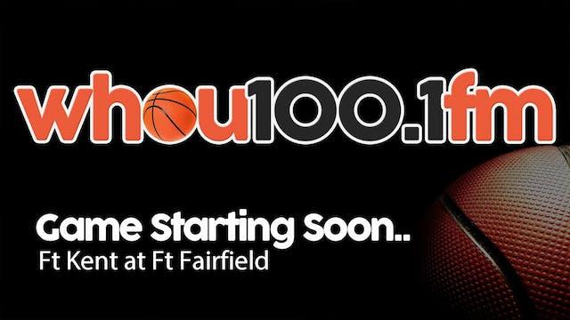 Ft Kent Boys at Ft Fairfield 1-11-18