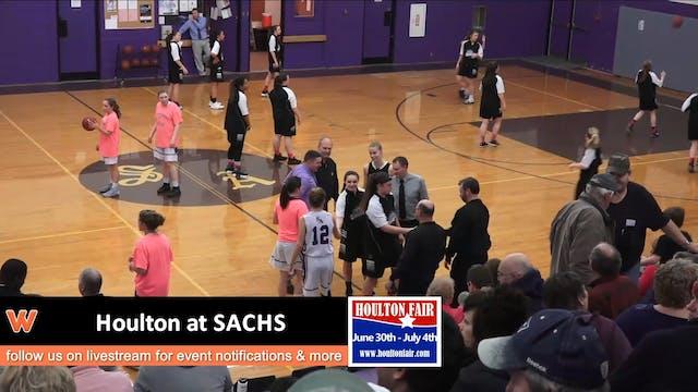 Houlton Girls at SACHS 1-22-18
