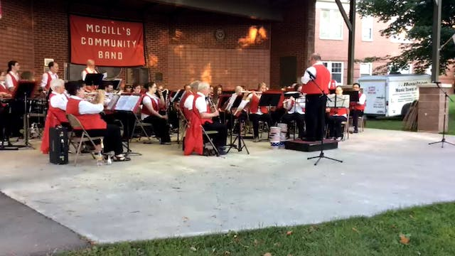 McGill's Band Concert 8-13-15