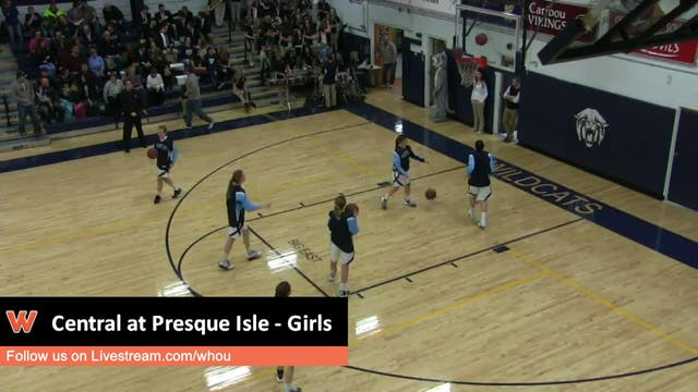 Presque Isle vs Central - Girls 1-2-16