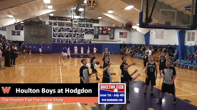 Houlton Boys at Hodgdon 12-12-17