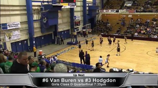 Hodgdon vs Van Buren Girls