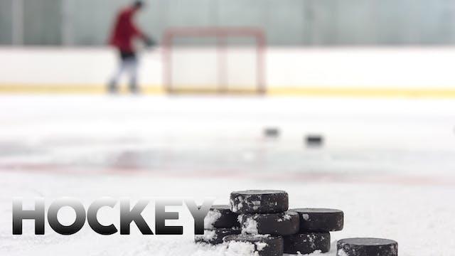 Brewer at OT/O Boys Hockey 2-20-21 V+JV
