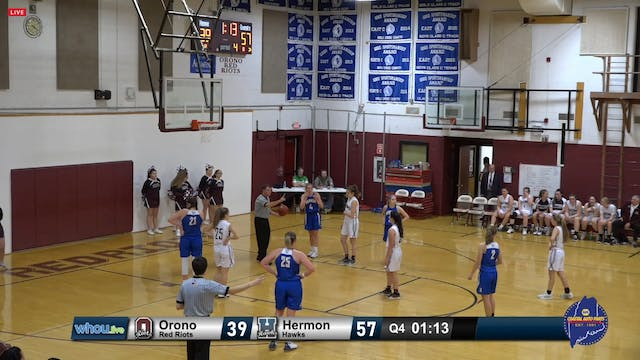 Hermon Girls at Orono - 12/10/2019
