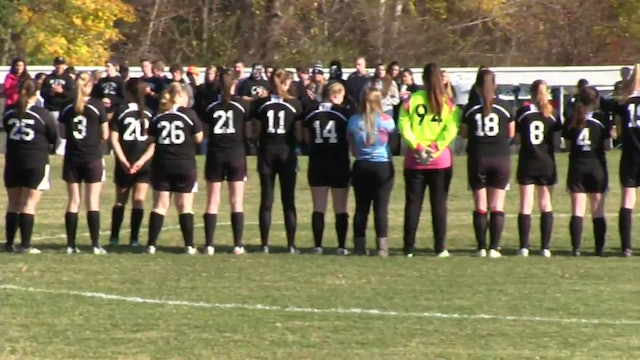 Northern Maine Girls Class C Soccer Championship Houlton at Orono