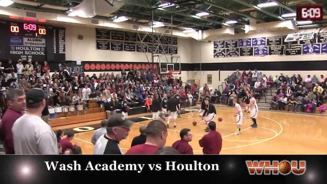 Washington Academy vs Houlton Boys 2/7/14