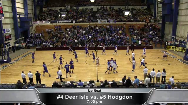 Deer Isle Stonington vs Hodgdon Boys ...