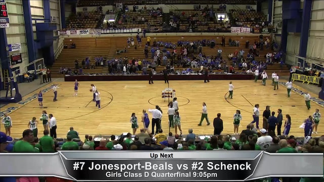 Jonesport-Beals vs Schenck Girls Quarter-finals