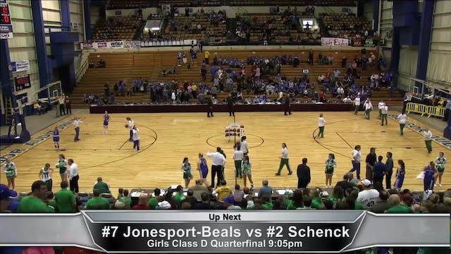 Jonesport-Beals vs Schenck Girls Quar...