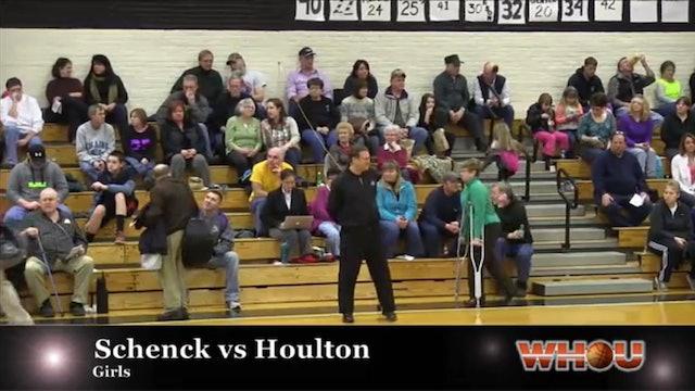 Schenck vs Houlton Girls 1-14-14