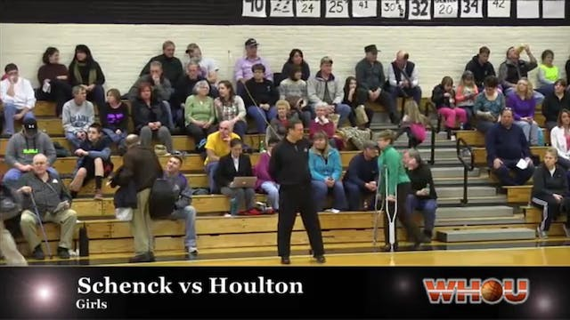 Schenck vs Houlton Girls 1-14-14