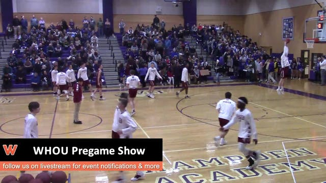 Bangor at Hampden Academy - Boys- Jan...