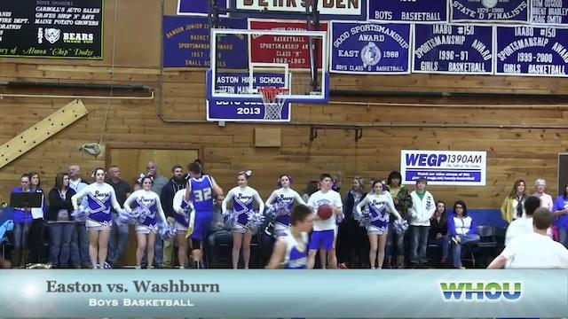 Washburn vs Easton boys 2-6-14