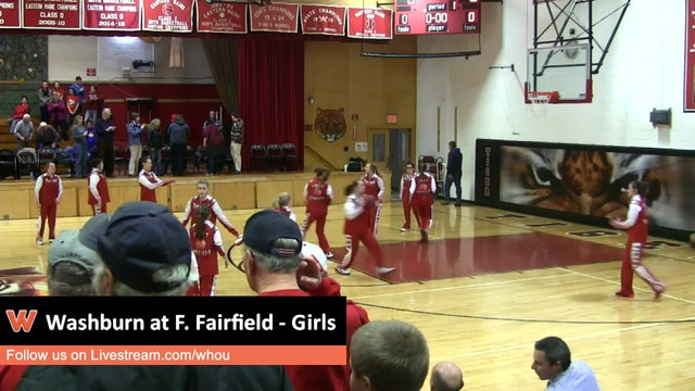 Washburn at Fort Fairfield - Girls 1/4/16