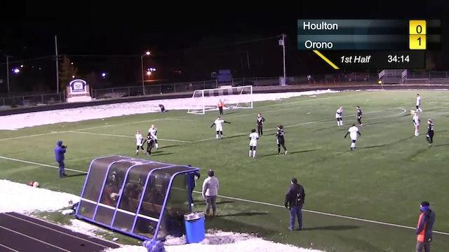 Orono vs. Houlton - Girls Soccer Quarterfinal
