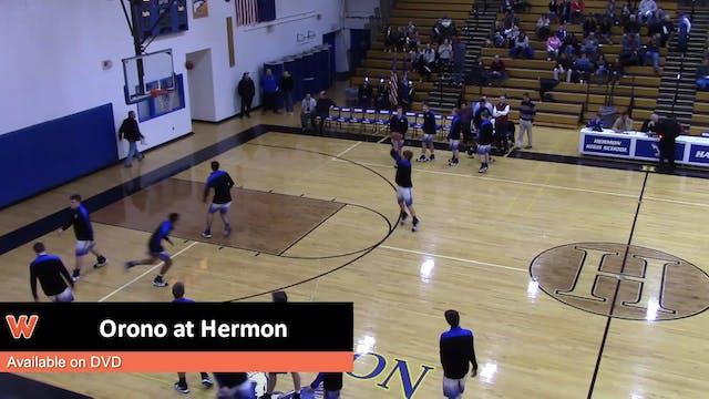 Orono Boys at Hermon 1-3-18