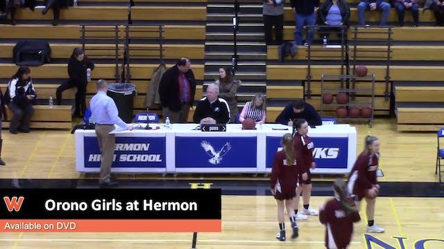 Orono Girls at Hermon 1-2-18