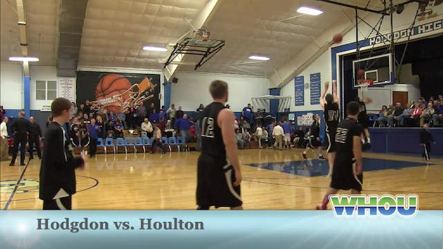 Houlton vs Hodgdon Boys 12/18/13