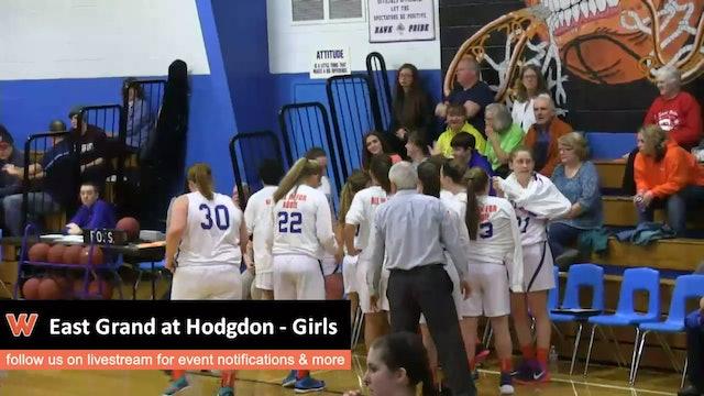 East Grand at Hodgdon - Girls 12/18/15