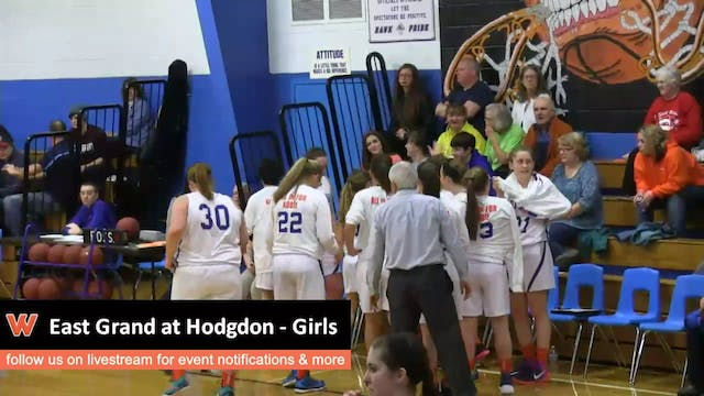 East Grand at Hodgdon - Girls 12/18/15