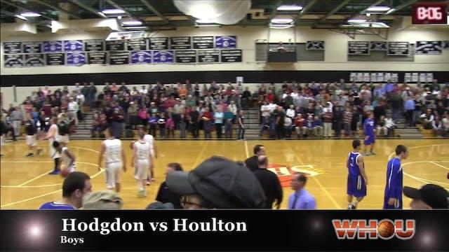 Hodgdon vs Houlton Boys 1-15-2014