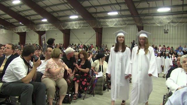 Houlton High School Graduation 2014