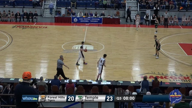#26 Class D Boys -  Forest Hills v Temple - 2/19/20