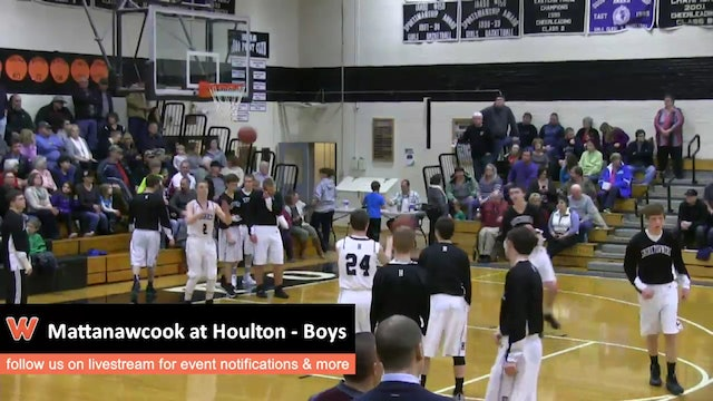 Mattanawcook at Houlton - Boys