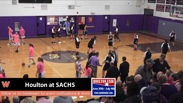 Houlton Girls at SACHS 1-22-18