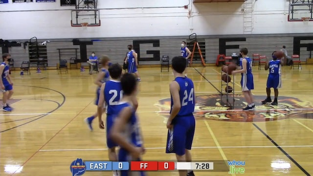Easton at Ft Fairfield Boys JV Basketball 1/11/21
