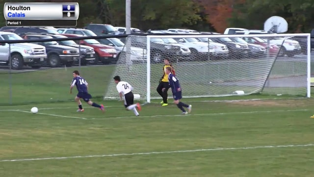 Calais at Houlton Boys Soccer