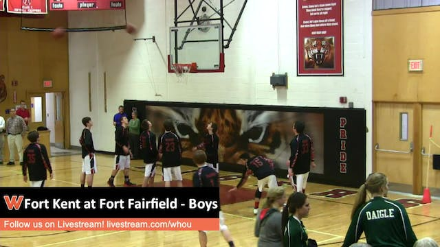 Fort Kent at Fort Fairfield - Boys 1-...