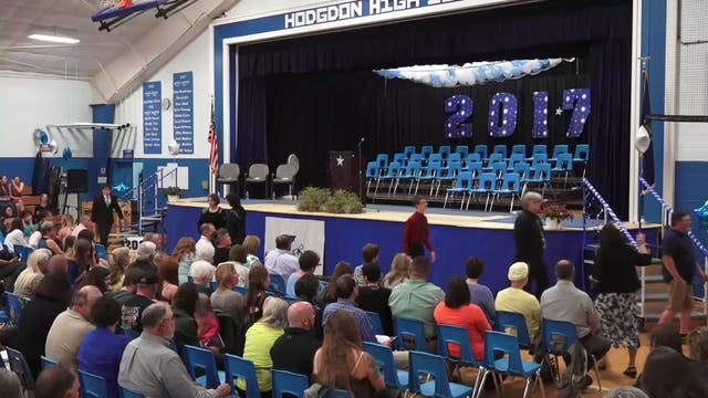Hodgdon High School Graduation 2017