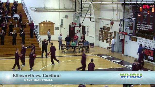 Ellsworth vs Caribou Boys 1/25/14