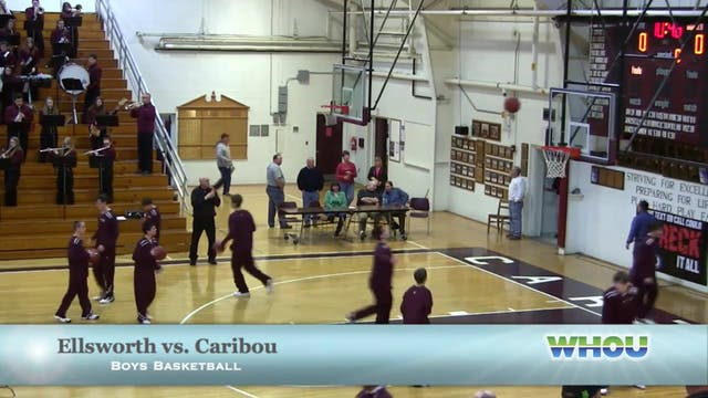 Ellsworth vs Caribou Boys 1/25/14