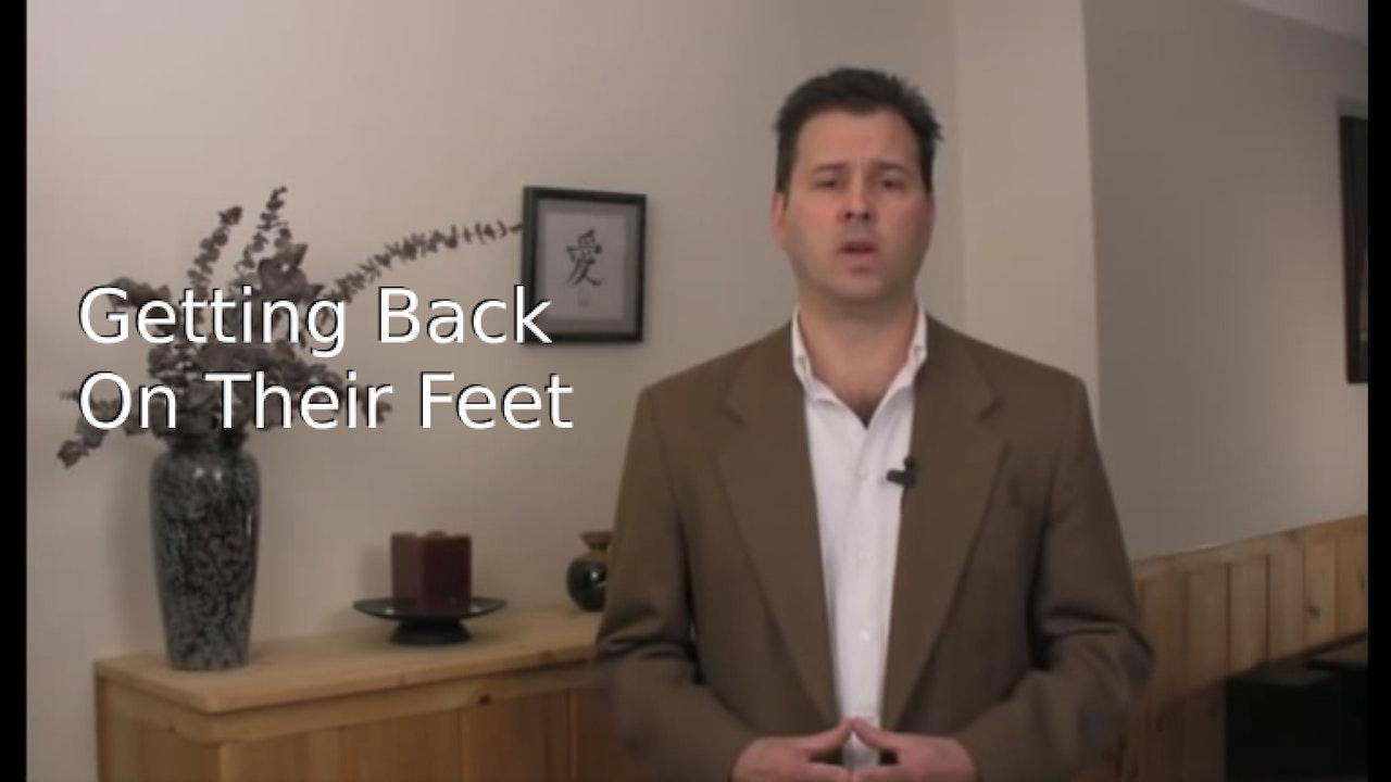 Getting Back on Their Feet