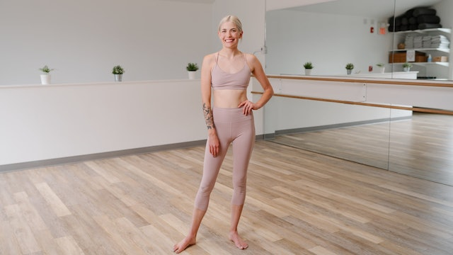 50 Minute Full Body Barre with Kerry