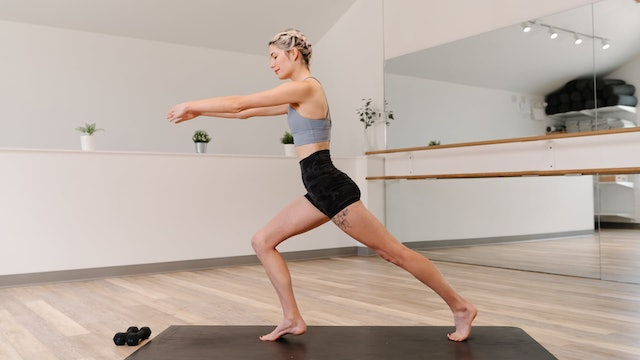 30 Minute Full Body Barre with Kerry