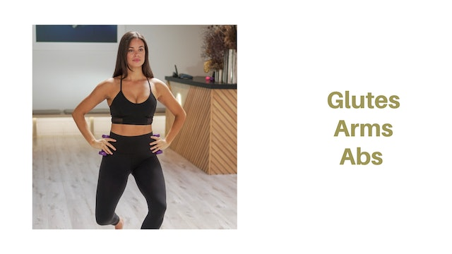 Glutes Arms Abs