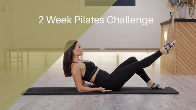 2 Week Pilates Challenge